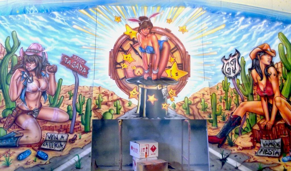 Laminas De Atracciones De Feria Para Pintar: Aerografía En Zaragoza