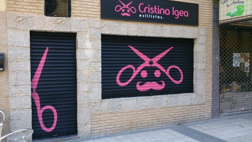 Decoracion con graffiti