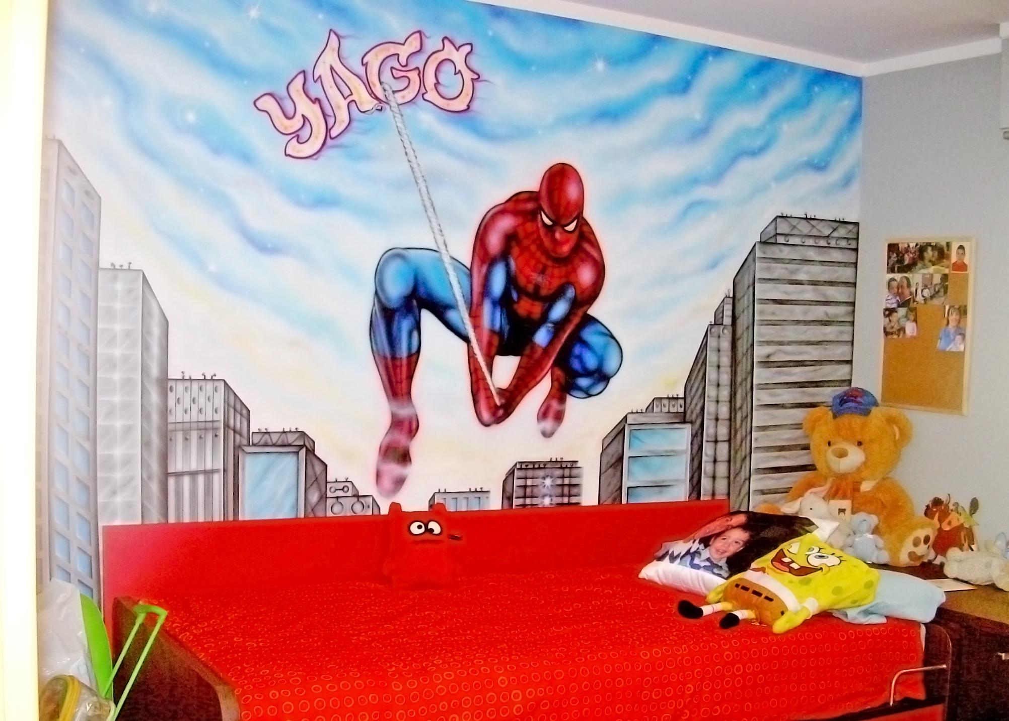 Murales de pared infantiles mural habitacin infantil for Murales infantiles